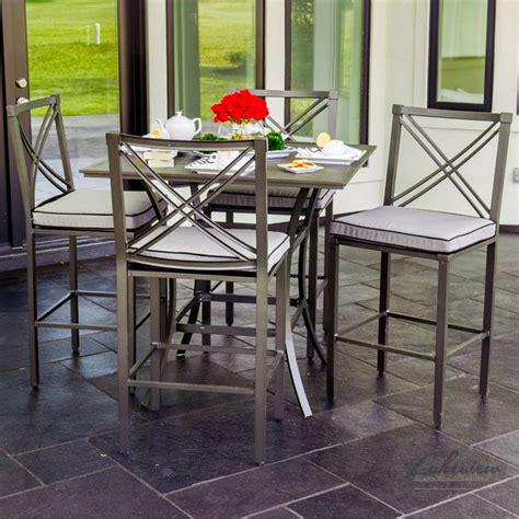 audubon patio furniture modern outdoor pub and bistro