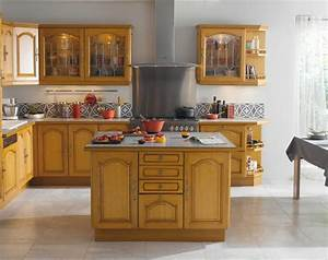 Ilot Central Pour Cuisine : wandgestaltung wohnzimmer de cuisine ilot central ~ Teatrodelosmanantiales.com Idées de Décoration