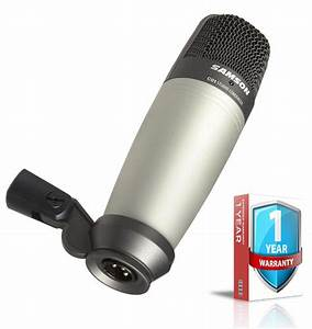 Samson C01 Condenser Microphone With Extended Warranty