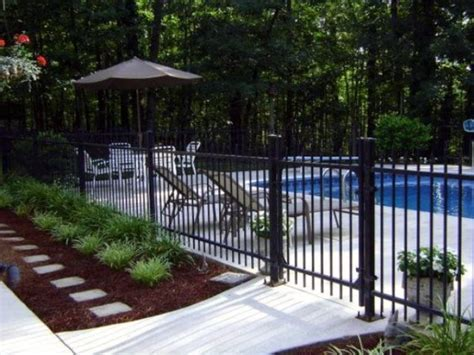 Backyard Pool Fence Ideas by Top 50 Best Pool Fence Ideas Exterior Enclosure Designs