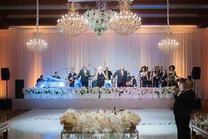 glam 10th wedding anniversary party vow renewal in With wedding vow renewal reception ideas