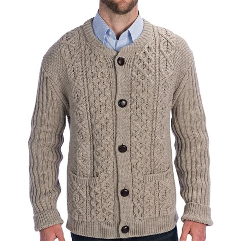 cable cardigan sweater peregrine by j g cable knit crew cardigan sweater