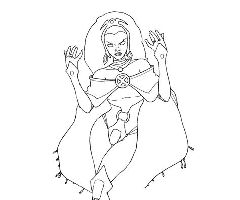 Storm Coloring Pages - Costumepartyrun