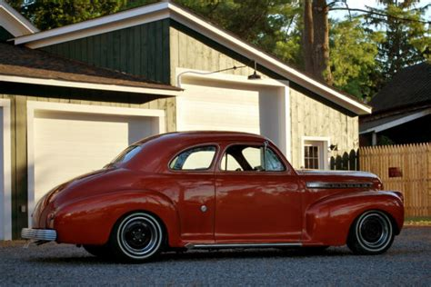 1941 Chevrolet 2 Door Business Coupe Hot Rod Mild Kustom