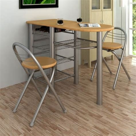 Kitchen Bar Table by Kitchen Breakfast Bar Table And Chairs Set Wood Www