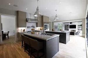 Petit Ilot Cuisine : ilot central dans petite cuisine modele cuisine ilot ~ Premium-room.com Idées de Décoration
