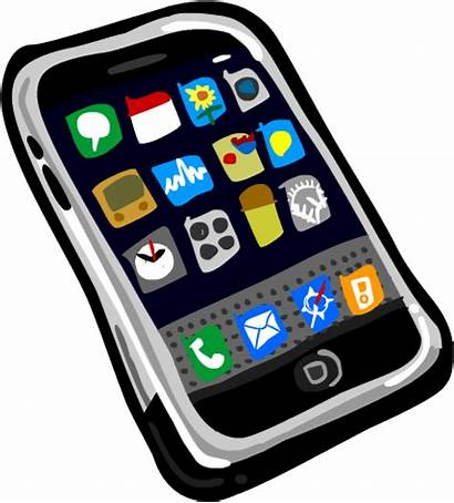Phone Cell Clipart Mobile Clip Cellphone Smart