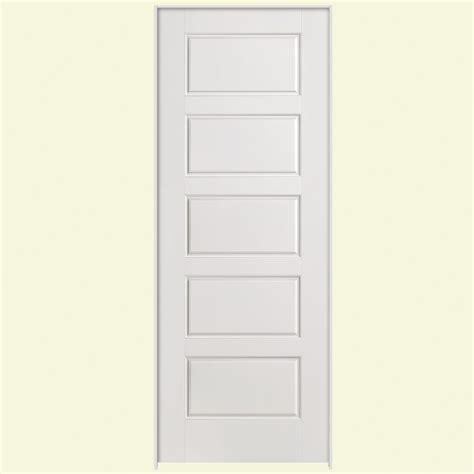 interior doors home depot masonite 32 in x 80 in solidoor cheyenne smooth 2 panel