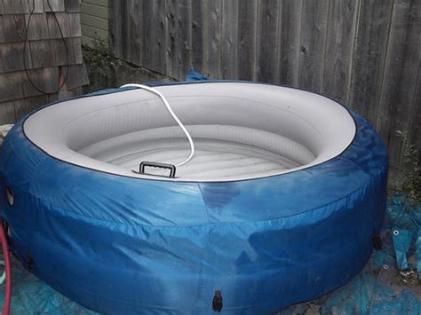 diy outdoor hot tubs   build  shelterness