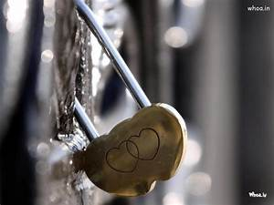 Creative Love Heart Lock HD Wallpaper