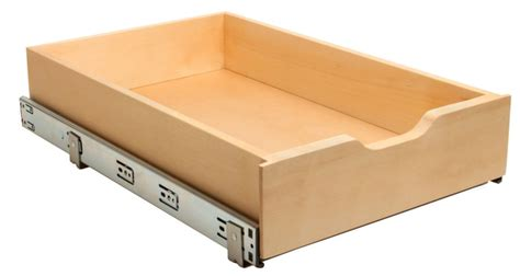 tiroir en rangement real solutions tiroir de rangement en bois coulissant avec fermeture amortie home depot canada