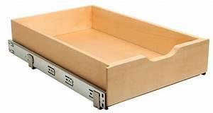Tiroir De Rangement Bois : real solutions tiroir de rangement en bois coulissant avec ~ Melissatoandfro.com Idées de Décoration