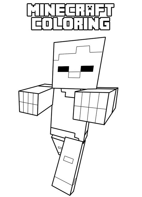minecraft coloring minecraft coloring pages for coloring pages for