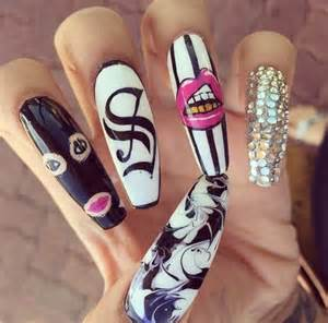 Amazing funky nail art designs for girls trendy mods