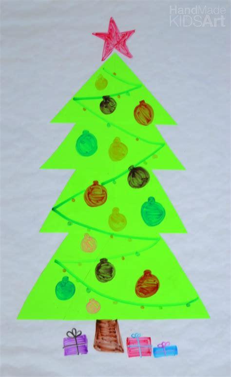 easy christmas activity  kids dry erase christmas tree