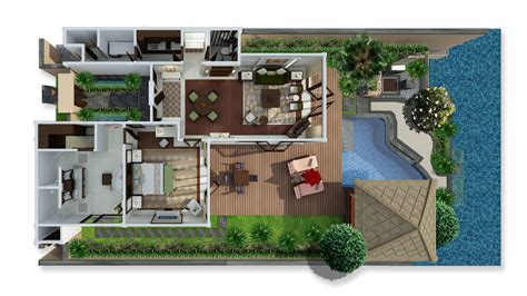 small 2 bedroom house plans bali villa lagoon villa one bedroom st regis bali