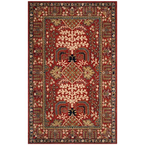5 8 Area Rugs safavieh antiquity multi 5 ft x 8 ft area rug at64a