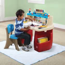 deluxe art master desk kids art desk step2 inside step two