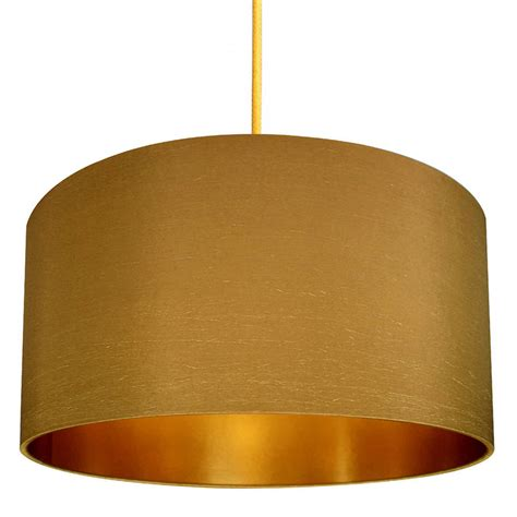 Gold Lined Lamp Shades by Gold Or Copper Lined Lampshade In Antique Gold By Love