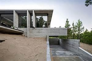 Maison Semi Enterrée : imposante maison semi enterr e construite sur une dune de ~ Voncanada.com Idées de Décoration