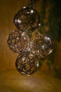 Christmas String Lights White Cord Grapevine String Lights 6ft Battery Operated 10ct Warm