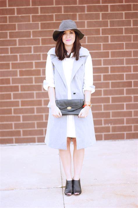 style white shirt dress  brunette