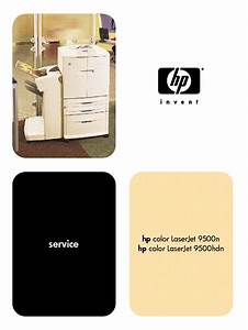 Hp Color Laserjet 9500n 9500hdn Sm Service Manual Download  Schematics  Eeprom  Repair Info For