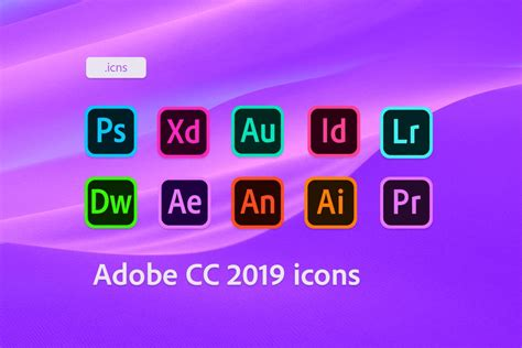Adobe Cc 2019 Icons By Robomartion On Deviantart