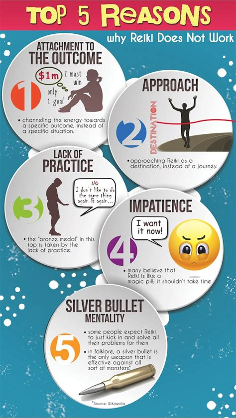 [Infographic] Top 5 Reasons why Reiki Does Not Work ...