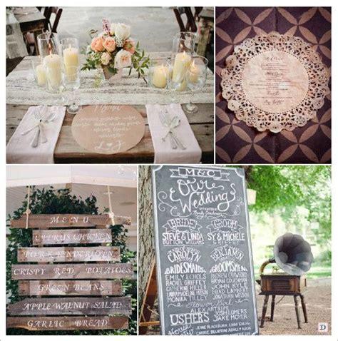 deco mariage vintage menu mariage retro vintage assiette napperon dentelle papier pancarte bois tableau ardoise
