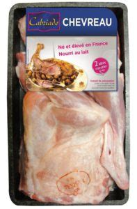 cuisiner chevreau viande de chevreau pour la grande distribution loeul et