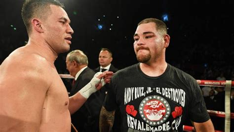 Andy Ruiz Rips Joseph Parker As He's Confirmed To Fight