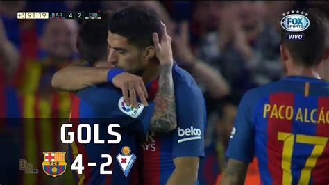 Барселона - Эйбар. Чемпионат Испании. Ла Лига 2017/2018. 5-й тур