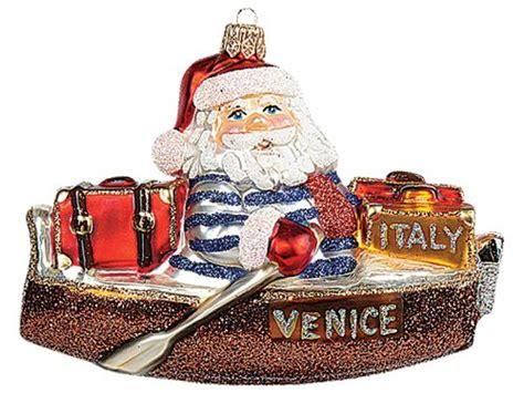 venice christmas ornament ornaments celebrating venice italy
