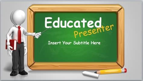 top free powerpoint presentation templates used by students animated blackboard template for educational powerpoint