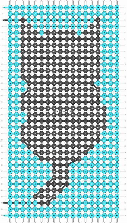 Friendship Bracelet Alpha Pattern Braceletbook Patterns Keychain