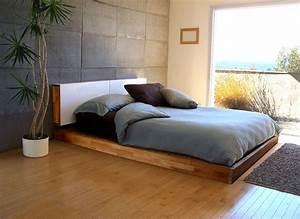 Co Op Eco Modern Platform Bed And Optional Storage
