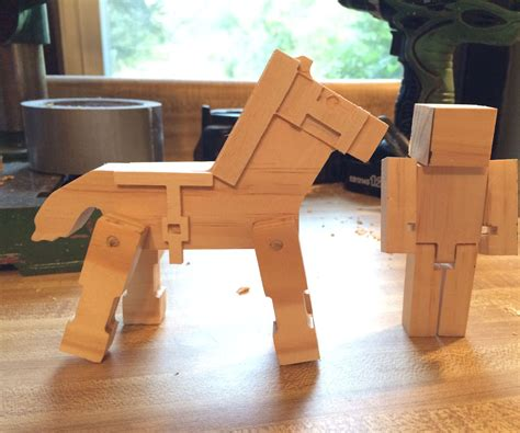 wooden minecraft toys  steps  pictures