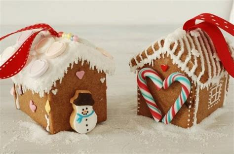 foodista edible gingerbread house ornaments