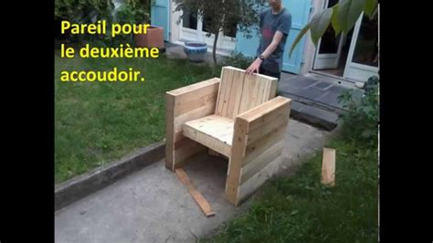 canapé extérieur facile fabriquer votre fauteuil de jardin intérieur en
