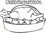 Coloring Food Printable Pages Thanksgiving Colouring Cliparts Clipart Turkey Preschool Popular Library Clip Coloringhome sketch template