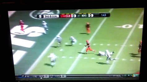 josh mccown helicopter fumble youtube