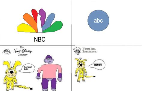 Nbc-tv Vs Abc-tv By Buddyboy600 On Deviantart