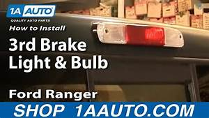 How To Replace Third Brake Light 95