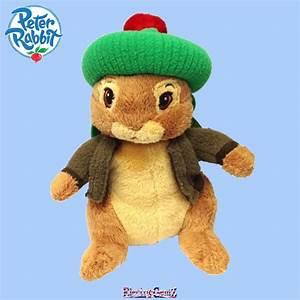 Peter Rabbit 30cm Talking Plush - Benjamin Bunny Soft Toy