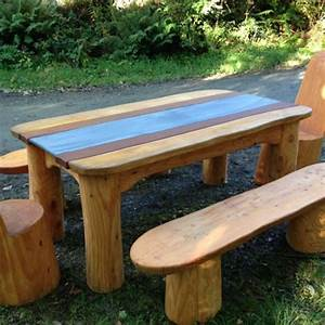 Making Outdoor Wooden Benches