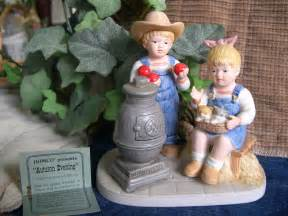 ebay home interiors home interiors homco denim days collection quot autumn evening quot figurine w tag 1517 ebay
