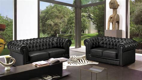 canape chesterfield cuir gris canap 233 2 places en cuir mobilier priv 233