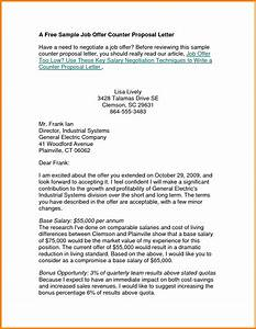 6 example of counter offer letter salary sales slip With employment offer letter template california