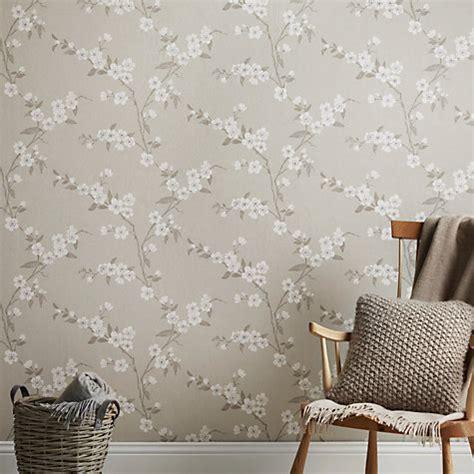 buy john lewis cherry blossom wallpaper john lewis